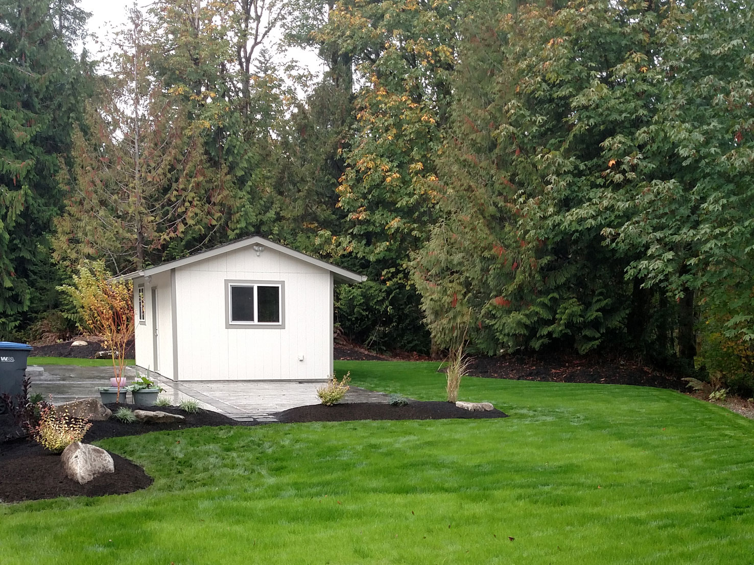 landscaping project in Port Orchard